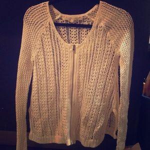Rachel Roy ZIP Up sweater SZ S